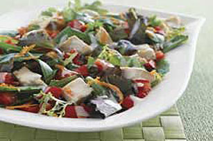 Fresh Vegetable Chicken Salad