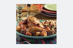 Pollo al estilo dominicano