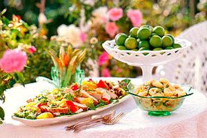 Fried Chicken Salad Image 1