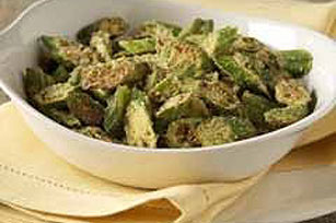 Fried Okra Recipe Image 1