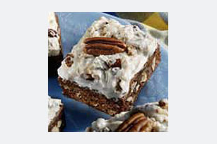 Frosted Coconut-Pecan Brownies Image 1