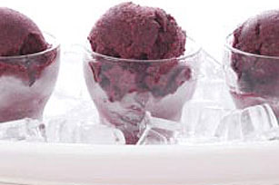 Frozen Lemon-Blueberry Sorbet Image 1