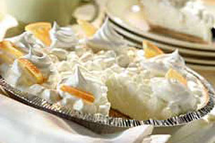 Frozen Orange Mallow Pie