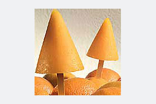 Frozen Orange Pops