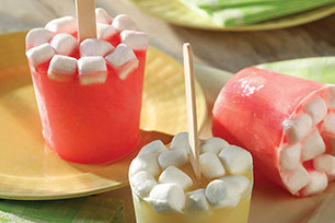 Fruity Marshmallow Pops