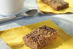 Crunchy Peanut Butter Bars Image 1