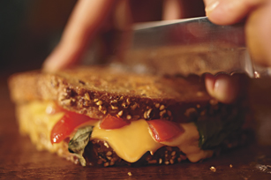 Garden Fresh Grilled Cheese Image 1