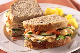 Garden Herb Turkey Sandwich Image 1