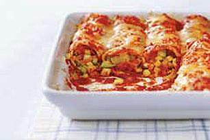 Enchiladas de la huerta
