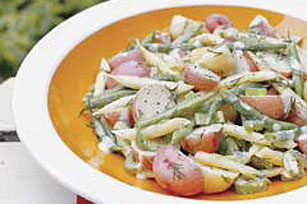 Garden-Fresh New Potato & Bean Salad Image 1