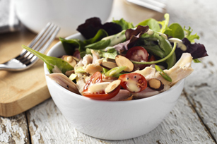 Garden-Fresh Turkey Salad with Dijon-Poppy Seed Dressing