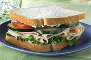Garden Turkey Sandwich Image 1