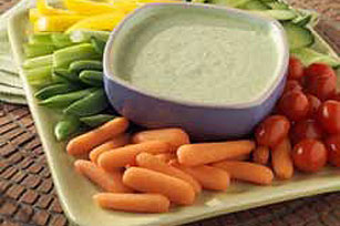 Garden Vegetable Dip Image 1