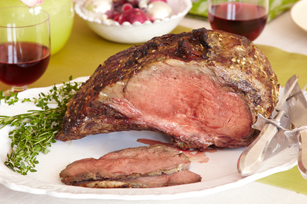 Garlic & Herb-Crusted Prime Rib