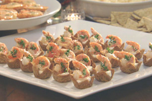Garlic-Shrimp Cups