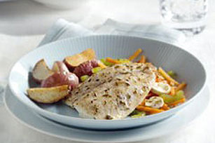 Tilapia with Garlic and Lemon