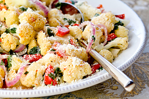 Garlicky Cauliflower