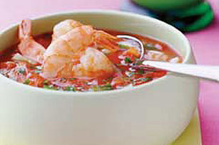 Gazpacho with Shrimp Image 1