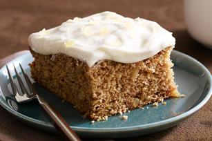 Ginger-Applesauce Cake