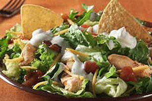 Favorite Ranch-Taco Chicken Salad
