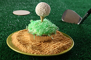 Golf Ball Cupcakes Image 1