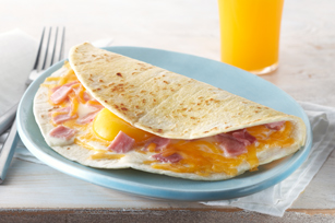 Good Morning Egg Quesadilla