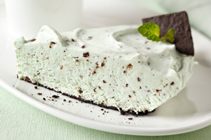Minty Pudding Pie