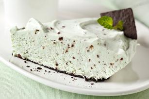 Minty Pudding Pie