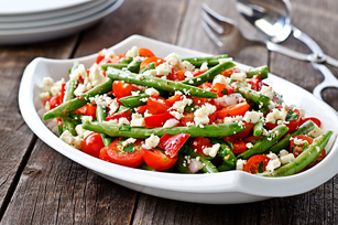 Greek Green Bean Salad Image 1
