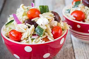 Greek Orzo Salad Image 1