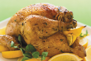 Greek-Style Lemon Roast Chicken Image 1