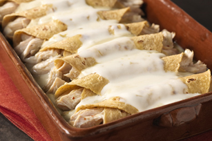 Green Chili Enchiladas with Queso Blanco