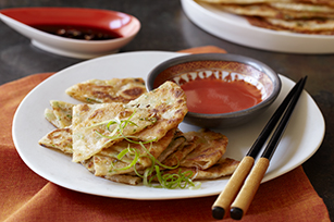 Green Onion & 3 Cheese Pancakes Image 1