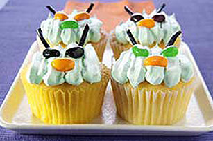 Green Monster Cupcakes Image 1