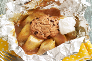 Grilled Banana Mini Pies Image 1