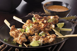 Chicken with Asian Peanut Sauce Image 1