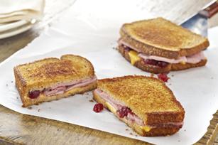 Grilled Ham & Cranberry Sandwich Image 1
