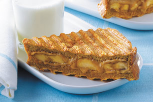 Grilled Peanut Butter and Banana Panini Image 1