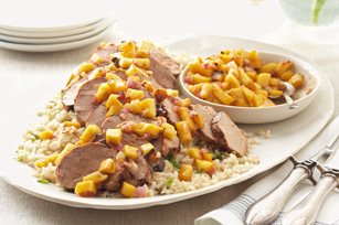 Grilled Pork with Mango Salsa