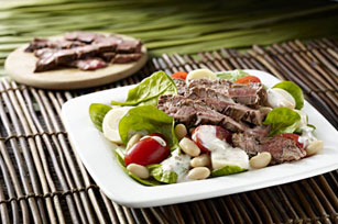 Grilled Steak & Hearts of Palm Salad Image 1
