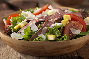 Grilled Steak & Parmesan Salad