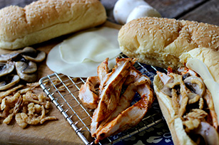 Grilled Steakhouse Chicken Sandwiches