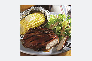 grilled-bbq-pork-chop-dinner-55190 Image 1