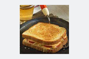 Grilled Cheese with Chilies & Tomato