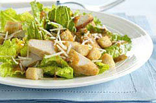 Grilled Chicken Caesar Salad with Spicy Chipotle Dressing