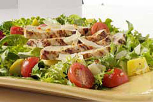 Grilled Chicken and Parmesan Salad