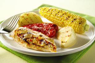 grilled-chicken-vegetables-parmesan-106713 Image 1