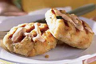 Tortitas asadas de cangrejo Image 1