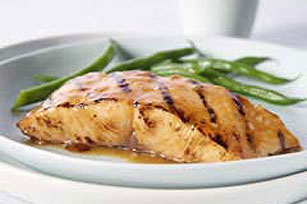 Grilled GREY POUPON-Maple Salmon Image 1