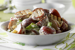 Grilled-Garlic Potato Salad